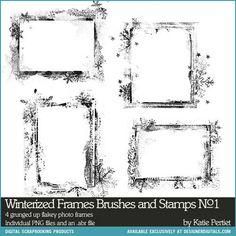 winterized photo frames 01 (katie pertiet)
