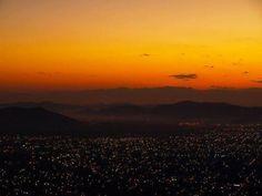 Sunset in San Pedro Sula,Honduras    Beatiful my City !