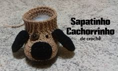 This video is a detailed step by step tutorial on how to crochet pretty baby ballet slippers / booties / shoes. These baby slippers fit months. Booties Crochet, Crochet Slipper Boots, Crochet Baby Boots, Crochet For Boys, Crochet Shoes, Crochet Slippers, Baby Booties, Knit Crochet, Baby Ballet