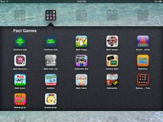 """Daily 5"" Math Apps on the iPad: Fact Games"