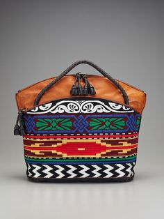 Isabella Fiore Graffiti Culture Ashley Tote - I love this designer's bright colors and bold mix of patterns.