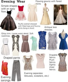 """""""Soft Natural (SN) - Evening Wear"""" by lightspring on Polyvore"""