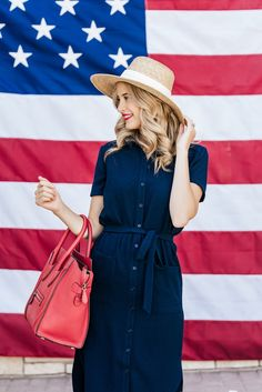 Patriotic Party, Red White Blue, Nice Dresses, Cool Style, Ivory, Shirt Dress, Summer, Blog, Shirts