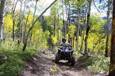 Join us for an exciting adventure atop an all terrain vehicle. Awesome views of Continental Divide. We navigate on historic mountain trails. Numerous trails something for every thrill level.
