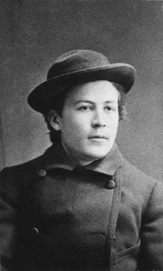 Young Anton Chekhov,1882.AuthorNikolay Lukich Pushkarev (1841-1906)
