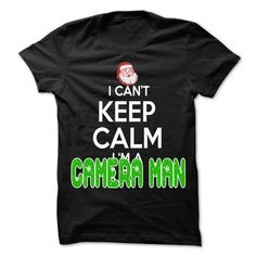 Keep Calm Camera man Christmas Time T Shirts, Hoodies. Check price ==► https://www.sunfrog.com/LifeStyle/Keep-Calm-Camera-man-Christmas-Time--0399-Cool-Job-Shirt-.html?41382