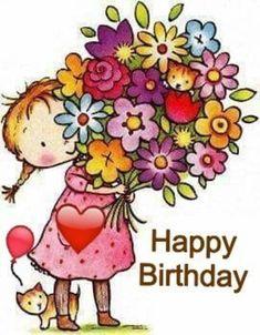 Happy Birthday Images Image · ☆ · · ·-𝔦𝔱-𝔶𝔬𝔲𝔯𝔰𝔢𝔩𝔣 ℑ𝔡𝔢𝔢𝔫🎀 Happy Birthday Wishes Cards, Happy Birthday Celebration, Birthday Blessings, Happy Birthday Meme, Birthday Wishes Quotes, Birthday Fun, Happy Birthday Quotes For Her, Cute Happy Birthday Pictures, Blessed Birthday Wishes