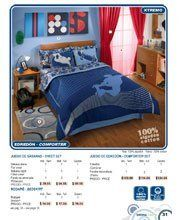 Xtreme Street Skateboarding 6 Pc. Bedding Set / Twin by Disney. $169.99. Highly makes your room stand out. Skateboarding Design. Great Quality. Number 1 Seller. Double view comforter. Comforter set includes: Double view comforter, Decorative Sham, Flat sheet, Fitted Sheet, Pillow case and Bed skirt