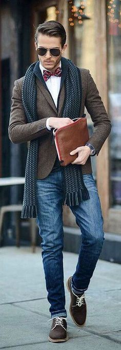 brown blazer for men