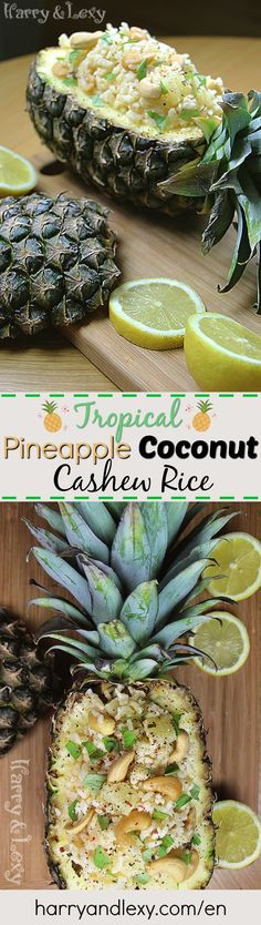 If you are looking for a fresh and summery dinner idea or a side recipe, our Pineapple Coconut Cashew Rice will make you feel like you're in the Caribbean.