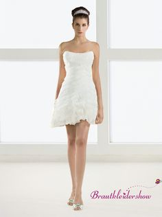 Kleid kurz tragerlos