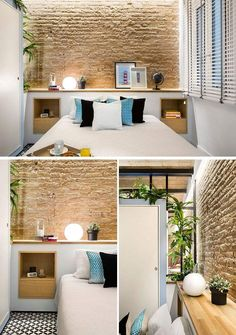 This Small Apartment In Barcelona Was Inspired By A Beach House - Zeutch