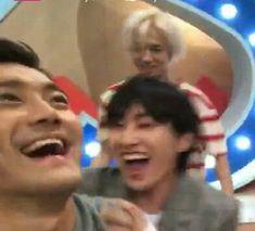 K Meme, Funny Kpop Memes, Dankest Memes, Super Junior Funny, Super Junior Leeteuk, Kim Heechul, Eunhyuk, Meme Pictures, Reaction Pictures