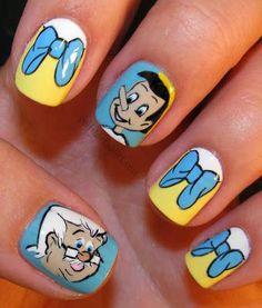26 Mejores Imágenes De Uñas De Disney Disney Nails Disney Nails