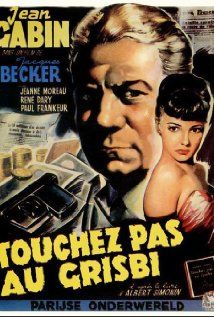 """""""Touchez Pas Au Grisbi"""" (Don't Touch the Loot) is another great film that is typically left out of the film noir canon. Jean Gabin is terrific as the world-weary gangster who is forced out of retirement to help an old buddy out of a tight spot."""