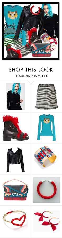 """""""Liberate Your Inner Awesome"""" by kareng-357 ❤ liked on Polyvore featuring Honey Punch, Alexander McQueen, Denny Rose, Taya, Tory Burch, Paula Cademartori, Jordan Askill and J.Crew"""