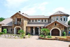 Tuscan Style Homes | Lake Travis Luxury Home provided by Rob Sanders Designer - Custom Home ...