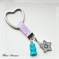 ♡ Gummibärchen  ♡ Schlüsselanhänger von Mimi´s Treasure  auf DaWanda.com