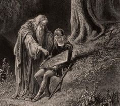 Merlin matures to an ascendant sagehood and engineers the birth of Arthur…