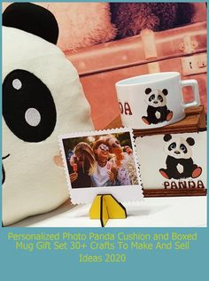 The photograph is 9cm x 9cm polocard. It is made of wooden material. It has a high print quality and vibrant color tones. The box is 12cm wide, 10cm deep, and high. The mug is made of premium porcelain material. Hand washing is recommended for the life of the print quality. It is sent to you in a protected way. The panda pillow is made of fleece fabric. It is sent with fiber filling. Panda pillow is 30cm x 30cm in size.#forher #forhim #forhim crafts to make and sell ideas Personalized