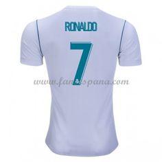 Camisetas De Futbol Real Madrid Cristiano Ronaldo 7 Primera Equipación  2017-18 4aa7fed8264bd