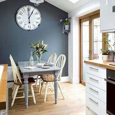 Mutfakta gri beyaz uyumu #mutfak #mutfaktarenk #evimdergisi