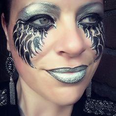 Dark Angel facepaint