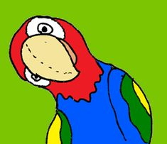Liedje over papegaaien voor de Nationale Voorleesdagen 2014.