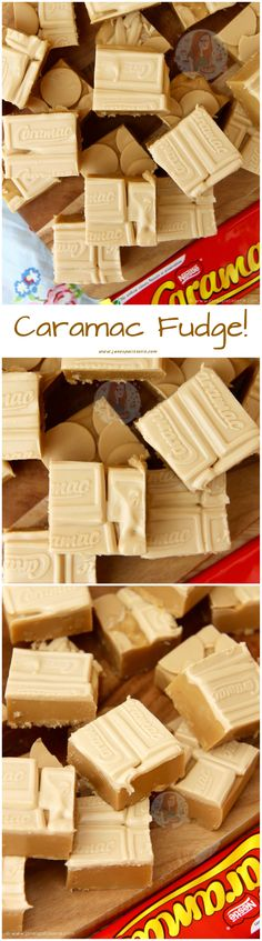 Caramac Fudge! ❤️ Based on the idea of a Classic, This Caramac Fudge is Much Easier to Make Than you Think – So Fudgey, Delicious, and Caramac-y!
