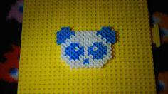 Panda! ~ Perler Beads Charm/KeyChain ~ - YouTube
