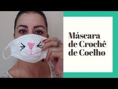 Veja como fazer máscara de crochê para proteção da boca e nariz, além de gráficos e videos ensinando passo a passo modelo infantil e adulto. Crochet Case, Crochet Girls, Crochet For Kids, Free Crochet, Knit Crochet, Loom Craft, Crochet Poncho Patterns, Craft Show Ideas, Youtube