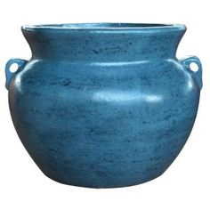 21 in. Cabo Blue Smooth Handle Clay - The Home Depot