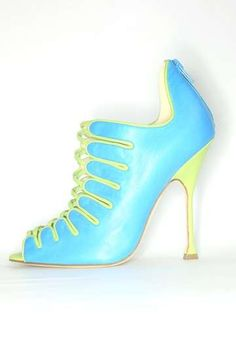 Motley Pastel Pumps : Brian Atwood Cruise 2011 Shoe