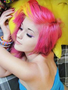 Pink and Yellow <3
