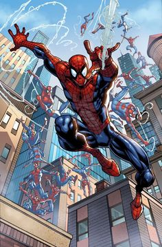 SPIDER-MAN by Todd Nauck Auction your comics on http://www.comicbazaar.co.uk
