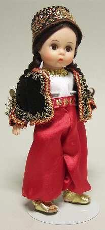 "Madame Alexander International-8"" Doll Algeria - Boxed"