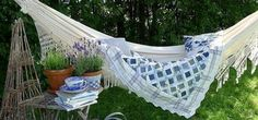 Bookish summer hammock