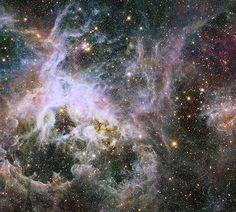 Star-forming Complex 30 Doradus from the Hubble Space Telescope