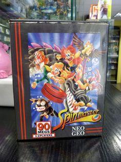 Spinmaster / Miracle Adventure Neo Geo AES