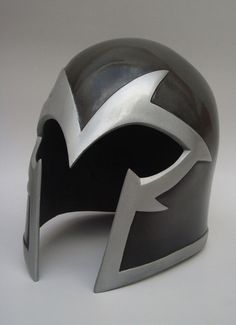 Magneto gray Adult Helmet Marvel Comics Props !!!!!!!!!!!!!!!!!!!!!!!!!! $300.00 + Shipping on eBay (I REALLY, REALLY WANT THIS)