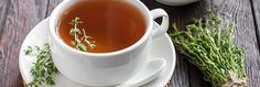 For of years people have been drinking Thyme Tea because it is so good for you, read about Thyme Tea benefits and buy Thyme Tea Online. Thyme Tea Benefits, Natural Health Remedies, Herbal Tea, Herbalism, Tea Cups, Tableware, Fibromyalgia, Blog, Marshmallow