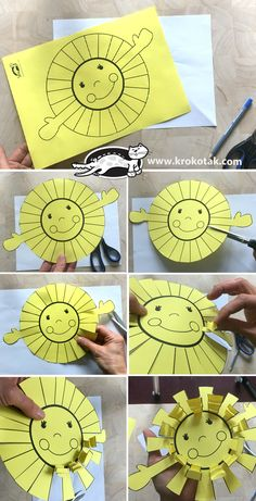 children activities, more than 2000 coloring pages Space Crafts For Kids, Summer Crafts For Kids, Art For Kids, Spring Crafts, Preschool Christmas Crafts, Kindergarten Crafts, Diy Educational Toys For Toddlers, Alphabet Crafts, Paper Crafts Origami