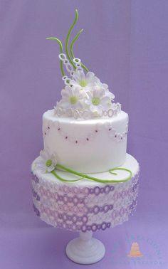 Loving My Purples pastel, wedding planning ideas, wedding ideas, cake decorations, wedding cakes, purple wedding, purple cakes, cake tables, cake art