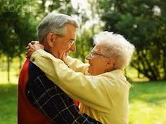 You're never too old to get a hug.