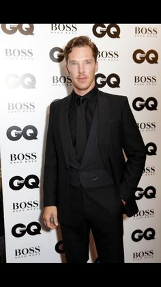 GQ MEN OF THE YEAR 2014 (September 2, 2014) ~ Benedict Cumberbatch arriving at the British GQ awards in London.