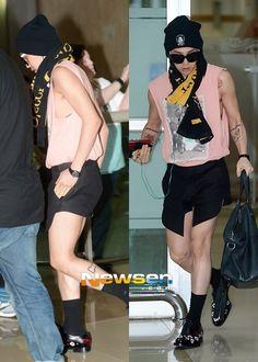 GD airport fashion