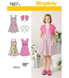 Simplicity Pattern Girl's Dresses 7-8-10-12-14-16 : Girl's Patterns : sewing patterns : sewing & quilt :  Shop | Joann.com