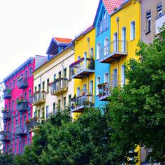 Berlin, Germany If life isn't colorful enough buy some paint