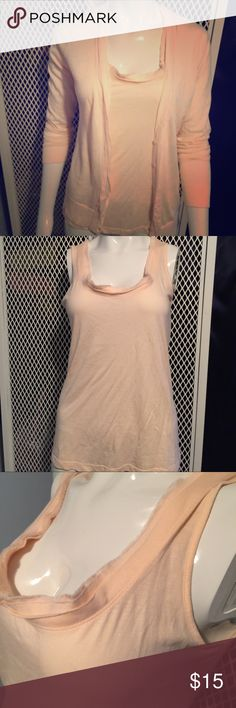 LOFT-Anne Taylor Powder pink almost like a peach color, both are size small, the material is very soft and cozy. LOFT Other