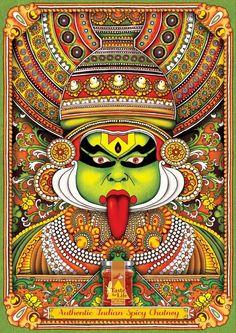 Taste for Life chutneys: Kathakali